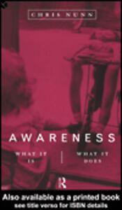 Foto Cover di Awareness, Ebook inglese di Chris Nunn, edito da