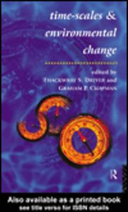 Ebook in inglese Timescales and Environmental Change