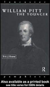 Foto Cover di William Pitt the Younger, Ebook inglese di Eric J. Evans, edito da