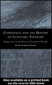 Ebook in inglese Complexity and the History of Economic Thought