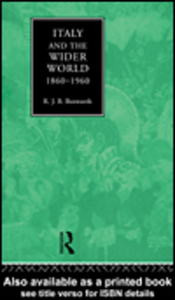 Ebook in inglese Italy and the Wider World Bosworth, R.J.B.