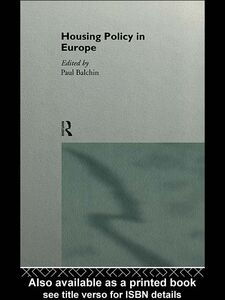 Ebook in inglese Housing Policy in Europe