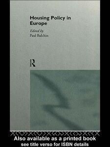 Foto Cover di Housing Policy in Europe, Ebook inglese di Paul Balchin, edito da
