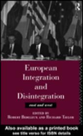 European Integration and Disintegration