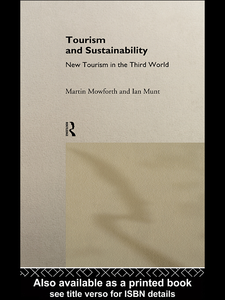 Ebook in inglese Tourism and Sustainability Mowforth, Martin , Munt, Ian