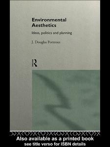 Ebook in inglese Environmental Aesthetics Porteous, J. Douglas
