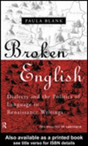Ebook in inglese Broken English Blank, Paula