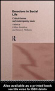 Foto Cover di Emotions in Social Life, Ebook inglese di Gillian Bendelow,Simon J Williams, edito da