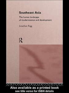 Ebook in inglese Southeast Asia Rigg, Jonathan