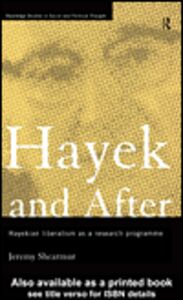 Ebook in inglese Hayek and After Shearmur, Jeremy