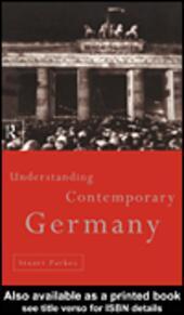 Understanding Contemporary Germany