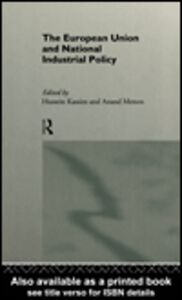 Ebook in inglese The European Union and National Industrial Policy