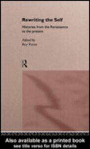 Foto Cover di Rewriting the Self, Ebook inglese di Roy Porter, edito da