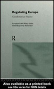 Ebook in inglese Regulating Europe