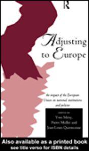 Foto Cover di Adjusting to Europe, Ebook inglese di AA.VV edito da