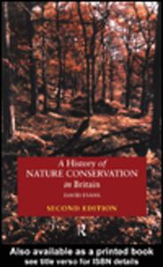 Ebook in inglese A History of Nature Conservation in Britain Evans, David