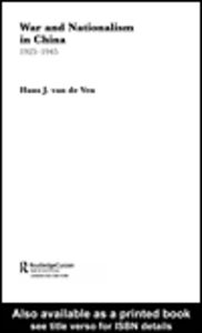 Ebook in inglese War and Nationalism in China: 1925-1945 van de Ven, Hans