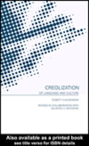 Ebook in inglese Creolization of Language and Culture Chaudenson, Robert