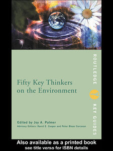 Ebook in inglese Fifty Key Thinkers on the Environment