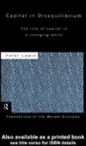 Foto Cover di Capital in Disequilibrium, Ebook inglese di Peter Lewin, edito da