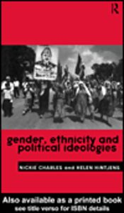 Foto Cover di Gender, Ethnicity and Political Ideologies, Ebook inglese di Helen Hintjens,Nickie Charles, edito da