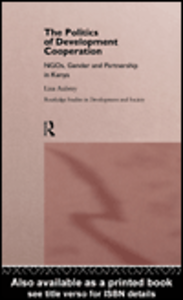 Ebook in inglese The Politics of Development Co-operation Aubrey, Lisa