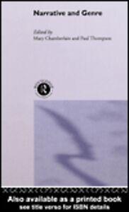 Foto Cover di Narrative and Genre, Ebook inglese di Mary Chamberlain,Paul Thompson, edito da