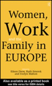 Ebook in inglese Women, Work and the Family in Europe