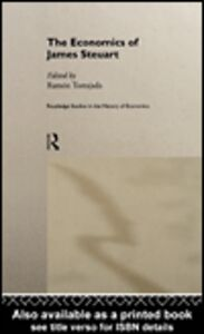 Foto Cover di The Economics of James Steuart, Ebook inglese di Ramon Tortajada, edito da