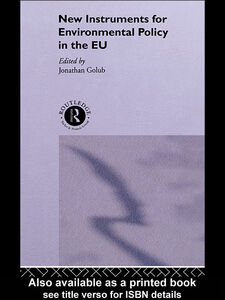 Ebook in inglese New Instruments for Environmental Policy in the EU