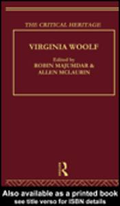 Ebook in inglese Virginia Woolf