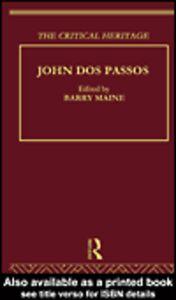 Foto Cover di John Dos Passos, Ebook inglese di Barry Maine, edito da