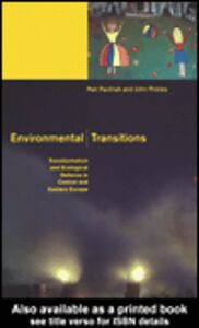 Foto Cover di Environmental Transitions, Ebook inglese di Petr Pavlínek,John Pickles, edito da