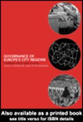 Governance of Europe's City Regions