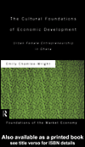 Ebook in inglese The Cultural Foundations of Economic Development Chamlee-Wright, Emily