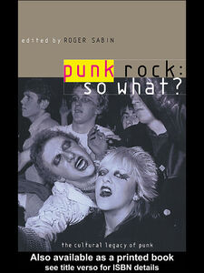 Ebook in inglese Punk Rock