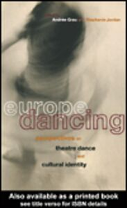 Ebook in inglese Europe Dancing