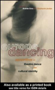 Ebook in inglese Europe Dancing