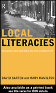 Ebook in inglese Local Literacies Barton, David , Hamilton, Mary