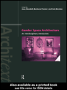 Ebook in inglese Gender Space Architecture