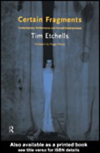 Ebook in inglese Certain Fragments Etchells, Tim
