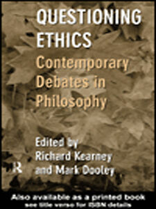 Ebook in inglese Questioning Ethics