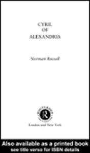 Ebook in inglese Cyril of Alexandria Russell, Norman