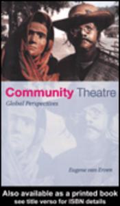 Ebook in inglese Community Theatre van Erven, Eugene