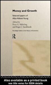 Foto Cover di Money and Growth, Ebook inglese di Perry G. Mehrling,Roger Sandilands, edito da