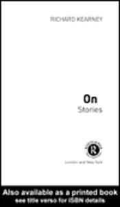 Ebook in inglese On Stories Kearney, Richard