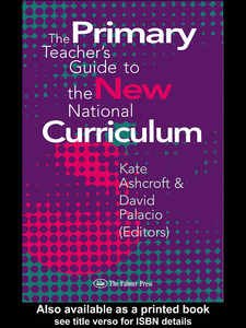 Ebook in inglese The Primary Teacher's Guide To The New National Curriculum