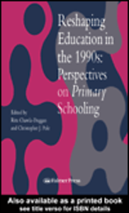 Ebook in inglese Reshaping Education In The 1990s