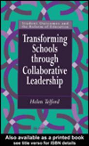 Ebook in inglese Transforming Schools Telford, Helen