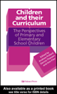 Ebook in inglese Children And Their Curriculum
